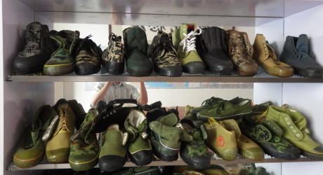Rural shoe factory in Henan